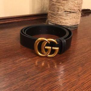 Gold GG Buckle Belt